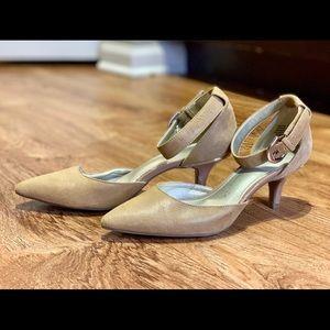 Anne Klein iFlex Ankle Strap Heels (Fabulist)